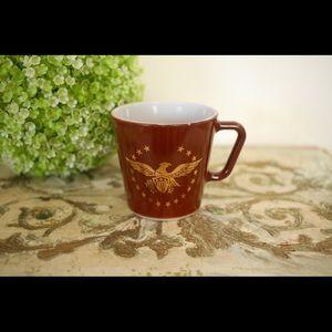 Vintage Pyrex Early American Mug